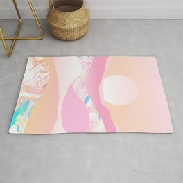 Sunrise Swirls Rug