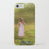 fairy tale iPhone & iPod Cases featuring Fairy Tale by Susann Mielke
