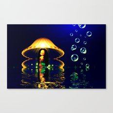 Close your eyes and create the magic Canvas Print
