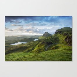 Up in the Clouds V Canvas Print