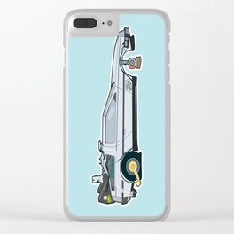 Busted: DeLorean DMC-12 Clear iPhone Case