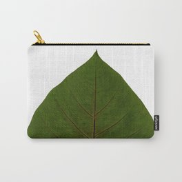 Tropical Leaf Botanical Print Carry-All Pouch