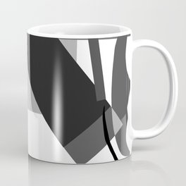 Matisse Inspired Black and White Collage Coffee Mug