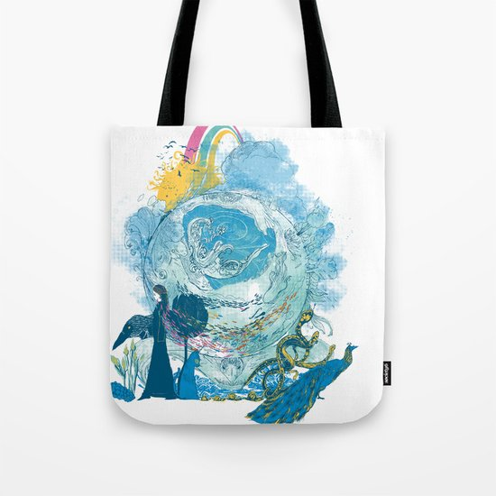 i love my planet 2 Tote Bag