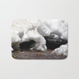 Natural Snow tunnels Bath Mat