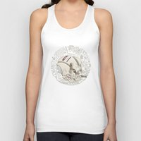 philosophy Tank Tops featuring Philosophy Skuhl by clogtwo