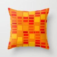 mosaic Throw Pillows featuring mosaic by Ioana Luscov