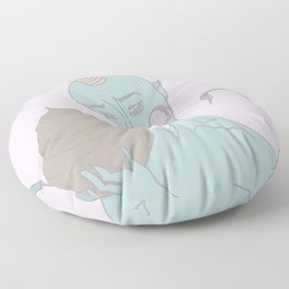 sweet licks Floor Pillow