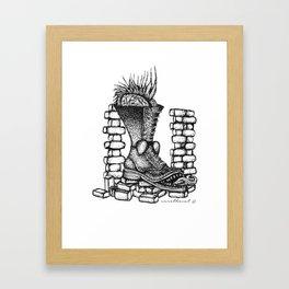Blitzkrieg Bop Framed Art Print