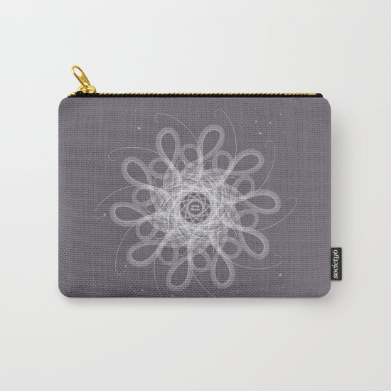 Ornament - Stormy Blossom Carry-All Pouch