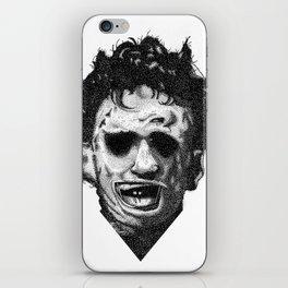 Leatherface iPhone Skin
