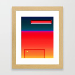 Breakout Variation 1 Framed Art Print