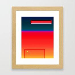 Breakout Variation 1 Framed Art Print