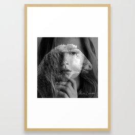 The Lamb In Me Framed Art Print