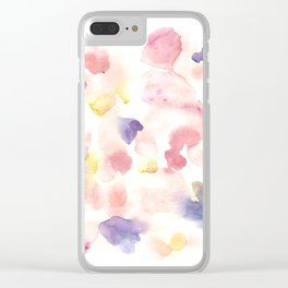 170722 Colour Loving 9 Clear iPhone Case