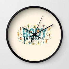 Body positive Wall Clock