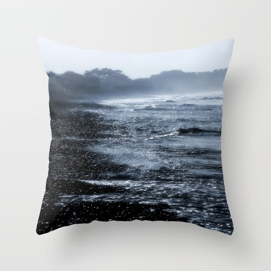 Hold Back the Tides Throw Pillow