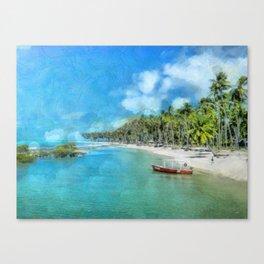 Praia de Carneiros Canvas Print