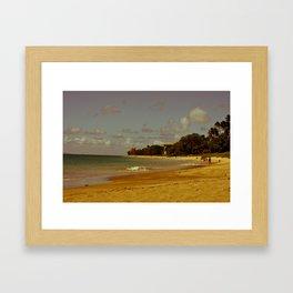 Vintage Maui 3 Framed Art Print