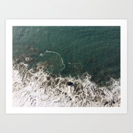 Wave Crash Art Print