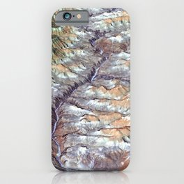 Satellite View of Magnificent Grand Canyon iPhone Case