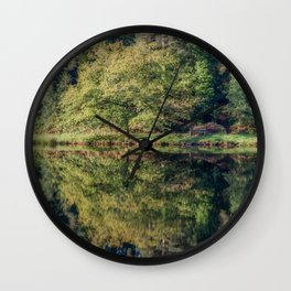 Summer Reflections Wall Clock