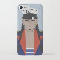 john snow iPhone & iPod Cases featuring John by B_U_R_T