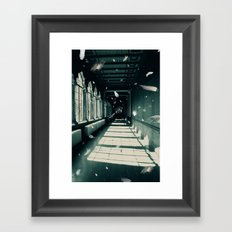 I had a dream Framed Art Print