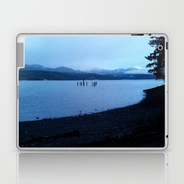 Mountains O'er the Canal Laptop & iPad Skin