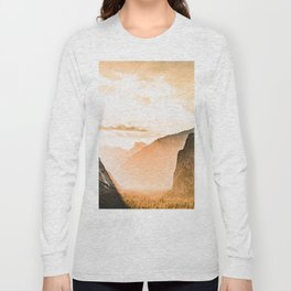 Yosemite Valley Burn - Sunrise Long Sleeve T-shirt