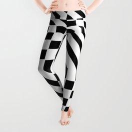 Tribute to Vasarely 1 -visual illusion Leggings