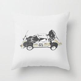 Lancia Stratos Throw Pillow