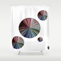 circle Shower Curtains featuring circle by  Agostino Lo Coco
