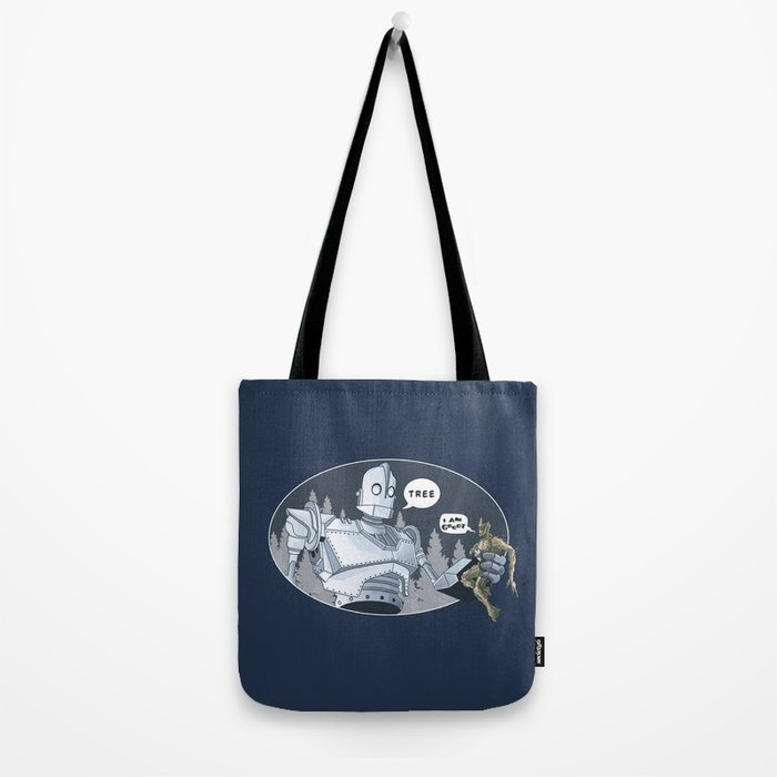The Giant & Groot Tote Bag