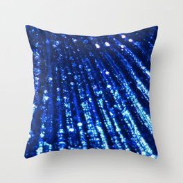 Ultramarine Blue Triton´s Secrets Throw Pillow