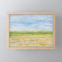 Sunny (Field) Day (South Carolina Field Series) Framed Mini Art Print