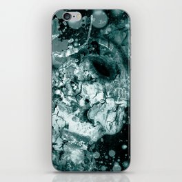 painting a woman iPhone Skin