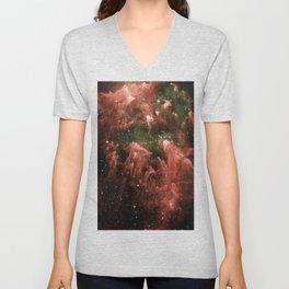 Nubula Hubble Space Telescope 02 Unisex V-Neck
