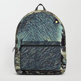 On a Moonlit Morning. Backpack