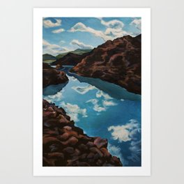 Clear Waters Art Print
