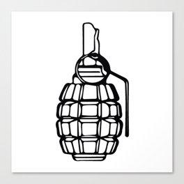 Grenade Canvas Print