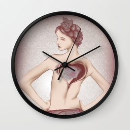 Prostitute  Wall Clock