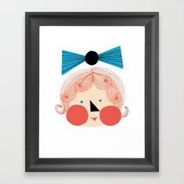 Rouva Framed Art Print
