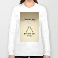 medieval Long Sleeve T-shirts featuring Medieval Fan by Littlebell