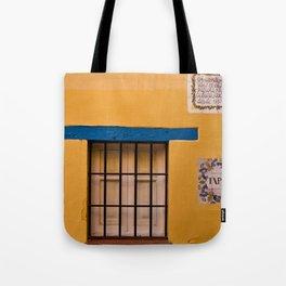 Yellow Wall Tote Bag