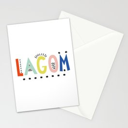 Lagom colors Stationery Cards