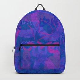 bluelove, variation on redlove Backpack