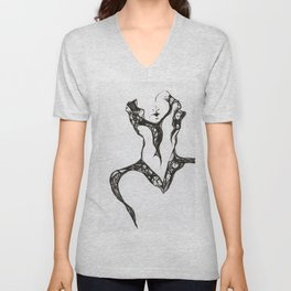 Greek Chorus Unisex V-Neck