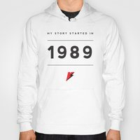 1989 Hoodies featuring My Story Series (1989) by Viral Status