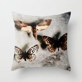 Entomology Specimin Throw Pillow